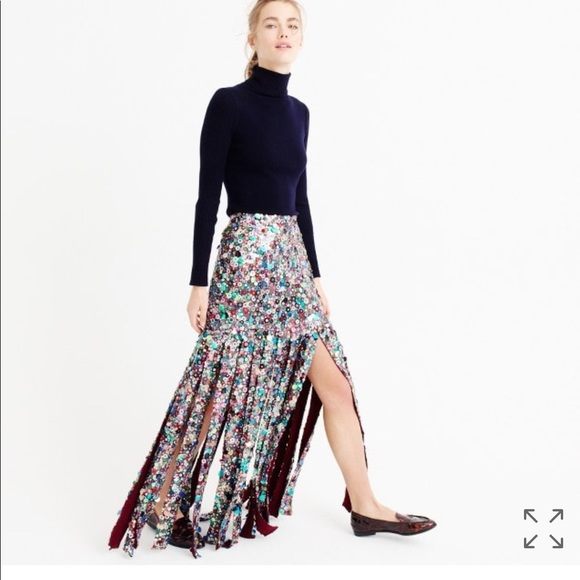 0ce71c033b J. Crew Skirts | J Crew Collection Sequin Skirt | Poshmark